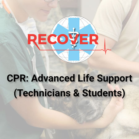 CPR: Advanced Life Support (Online -Technicians And Students)