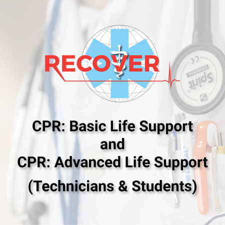 CPR: Basic And Advanced Life Support Package (Online -Technicians And Students)