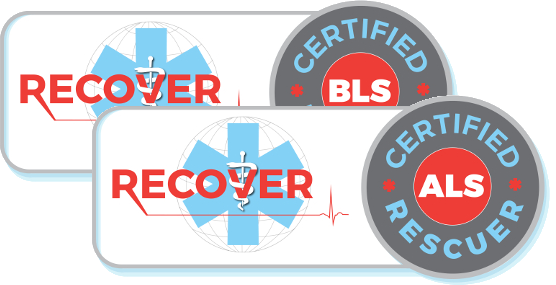 RECOVER Certified BLS And ALS Rescuer Status Activations