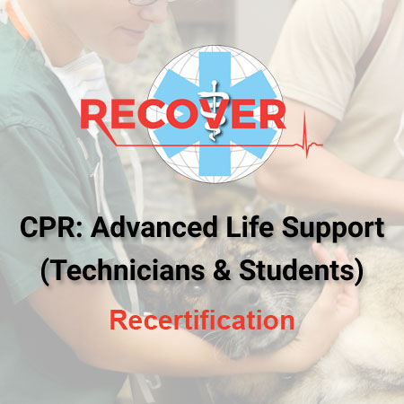 CPR Recertification: Advanced Life Support (VT/VN, Students)
