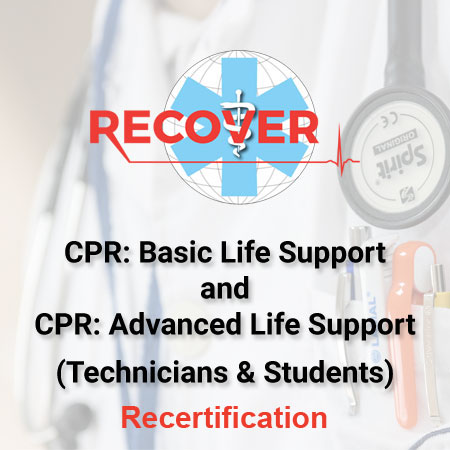 CPR Recertification: BLS & ALS Package (VT/VN, Students)