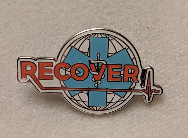 RECOVER Lapel Pin
